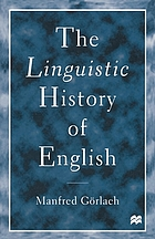 The linguistic history of English : an introduction