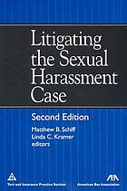 Litigating the sexual harassment case