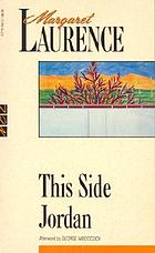 This side Jordan, a novel