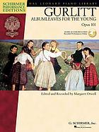 Albumleaves for the young : opus 101 : twenty little pieces for piano
