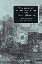 Wordsworth, commodification and social concern : the poetics of modernity