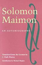 Salomon Maimons Lebensgeschichte