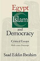 Egypt, Islam and democracy : twelve critical essays