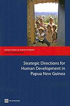 Strategic directions for human development in Papua New Guinea