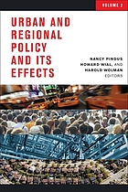 Urban and regional policy and its effects