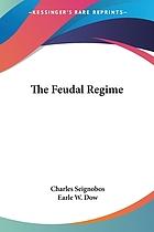 The feudal régime