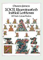 1001 illuminated initial letters : 27 full-color plates