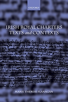 Irish royal charters : texts and contexts