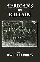 Special issue on Africans in Britain