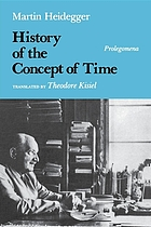 History of the concept of time : prolegomena