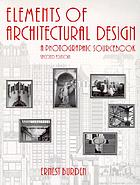Elements of architectural design : a photographic sourcebook
