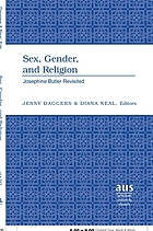 Sex, gender, and religion : Josephine Butler revisited