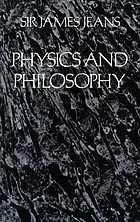 Physics & philosophy