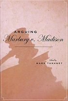 Arguing Marbury v. Madison