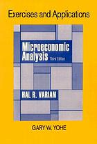 Exercises and applications for Microeconomic analysis, 3rd ed