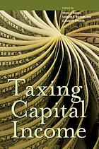 Taxing capital income