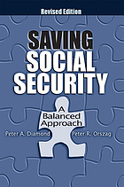 Saving Social security a balanced approach