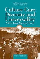 Culture Care Diversity & Universality :A Theory of Nursing