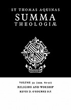 Religion and worship (2a2ae. 80-91)