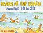 Bears at the beach : counting 10 to 20