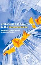 Citizenship and governance in the European Union