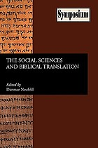 The social sciences and biblical translation