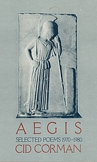 Aegis : selected poems, 1970-1980