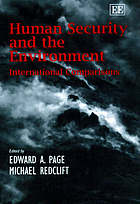 Human security and the environment : international comparisons