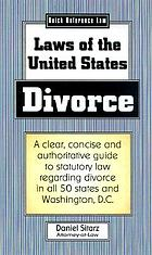 Divorce and dissolution of marriage laws of the United States