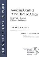 Avoiding conflict in the Horn of Africa : U.S. policy toward Ethiopia and Eritrea