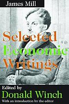 Selected economic writings
