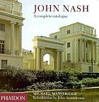 John Nash : a complete catalogue