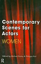 Contemporary scenes for actors, women