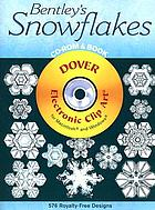 Bentley's snowflakes CD-ROM & book