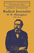 Radical journalist: H.W. Massingham (1860-1924)