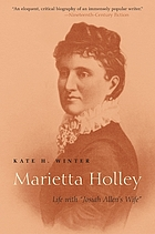"Marietta Holley : life with ""Josiah Allen's wife"