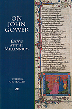 On John Gower : essays at the millennium