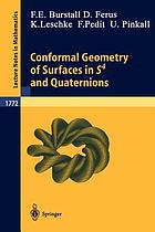 Conformal geometry of surfaces in S⁴ and quaternions