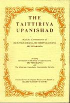 The Taittiriya Upanishad