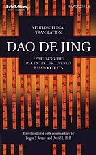 Dao de jing : a philosophical translation