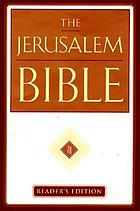 The Jerusalem Bible : Reader's Edition
