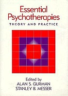 Essential psychotherapies : theory and practice