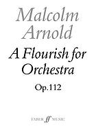 A flourish : for orchestra, op. 112 (1973)