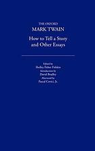 How to tell a story, and other essays