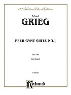 First orchestra suite : from the music to Peer Gynt, op. 46