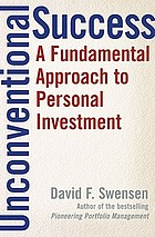 Unconventional success : a fundamental approach to personal investment