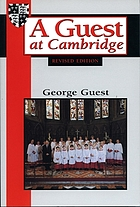 A guest at Cambridge