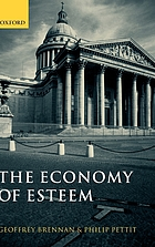 The economy of esteem : an essay on civil and political society