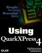 Using QuarkXPress 4