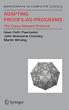 Adapting proofs-as-programs the Curry-Howard protocol